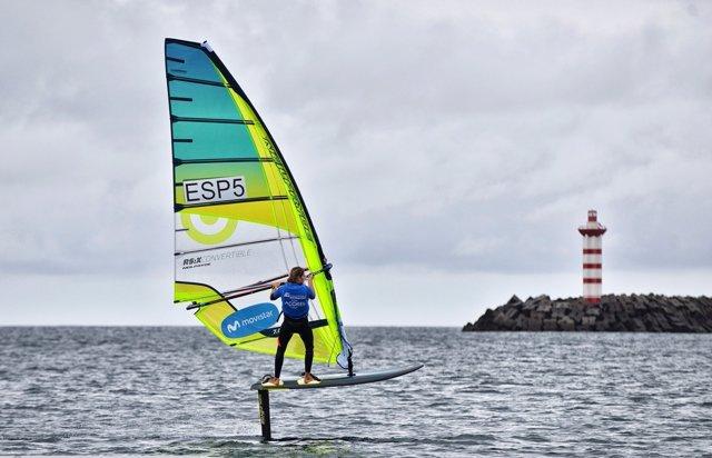 Marina Alabau, subcampeona del mundo de windsurf foil