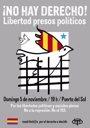 """Foto: Madrileños por Derecho a Decidir convoca concentración en Sol en apoyo a los """"presos políticos"""" de Cataluña"""