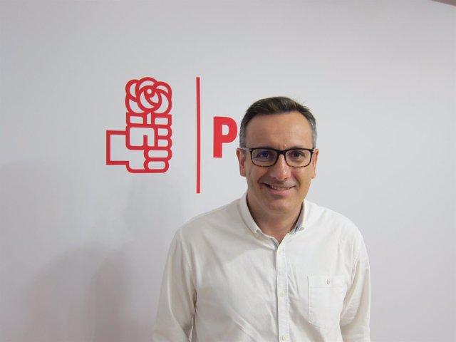 El secretario general del PSOE-RM, Diego Conesa