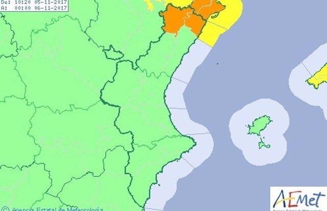 Sin riesgo en el resto de la región