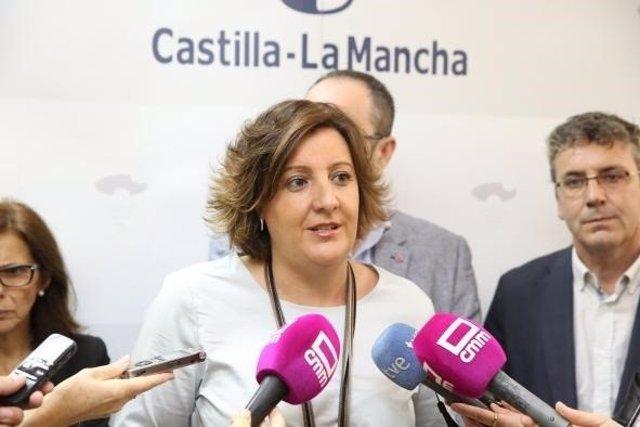 Consejera de Economía, Empresas y Empleo, Patricia Franco