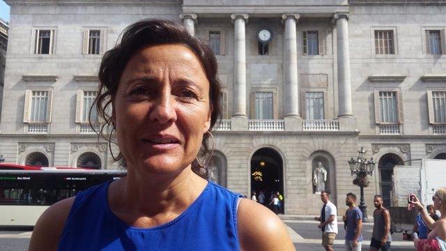 Mercè Conesa, pta de la Diputación de Barcelona