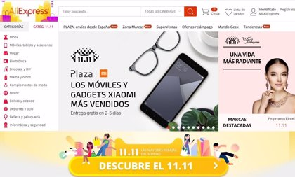 AliExpress reta a Amazon y desembarca en España con su primer espacio 'pop up' en Madrid, en pleno Malasaña