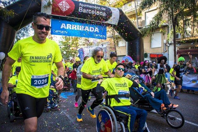 'En Marcha Por La Parálisis Cerebral' Carrera Barcelona