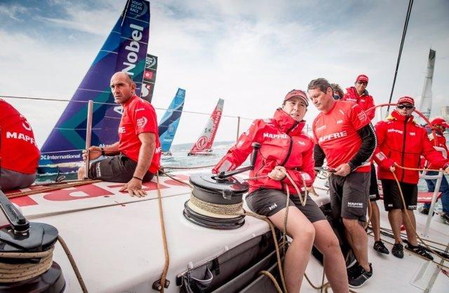 Xabi Fernández Támara Echegoyen MAPFRE Volvo Ocean Race