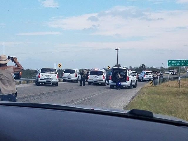 Policía en Texas