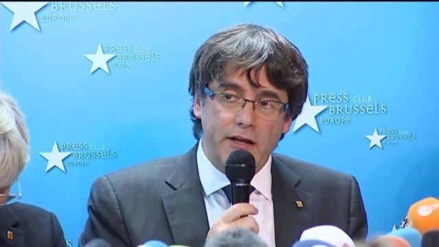 Bélgica estudia hoy la orden de detención contra Puigdemont