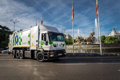 FCC celebra más de 40 años de la introducción del vehículo eléctrico para recogida de residuos sólidos