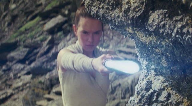 Rey en Star Wars Los últimos Jedi