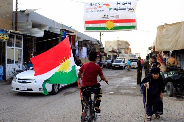 Bandera del Kurdistán