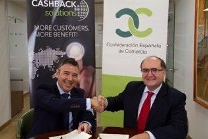 La CEC y Cashback World firman un acuerdo para ayudar a la transformación digital de comercios y pymes