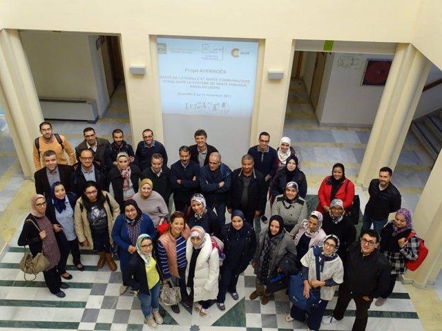 Participantes del programa realizado en la EASP