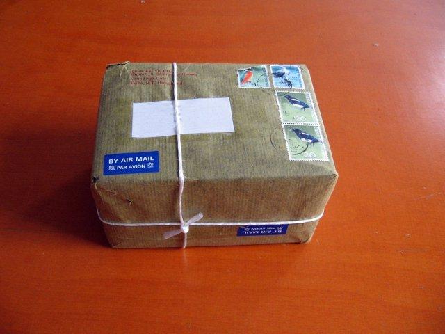 Paquete de envío comercio electrónico correos