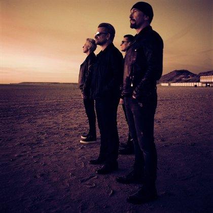 U2 actuarán gratis en Trafalgar Square (Londres) y recibirán el Global Icon Award en los MTV EMAs 2017