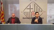 Els barcelonins puntuen amb un 6,4 la gestió del Govern d'Ada Colau, la nota històrica més alta (EUROPA PRESS)