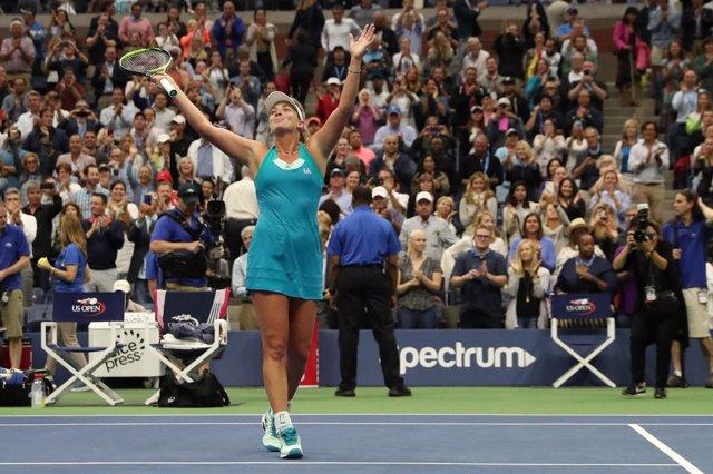 La tenista estadounidense Coco Vandeweghe