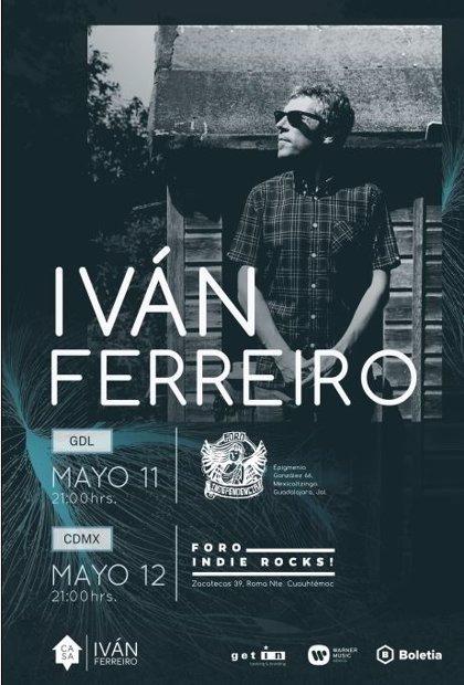 Iván Ferreiro anuncia fechas de su gira por México