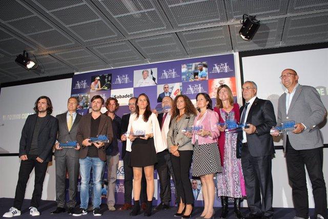 IV Premios María de Villota y los VI Premios Ciudad de la Raqueta