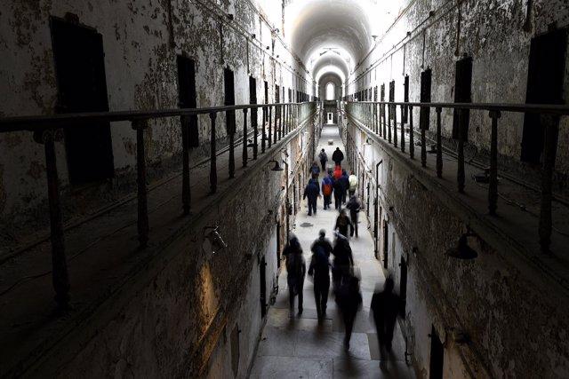 Cárcel en Filadelfia, Estados Unidos