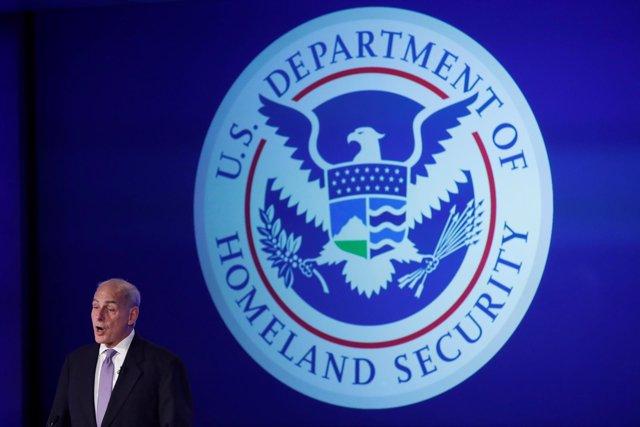 El exsecretario de Seguridad Nacional John Kelly.