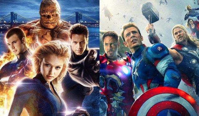 'Los Cuatro Fantásticos' Y 'Vengadores: La Era De Ultrón'