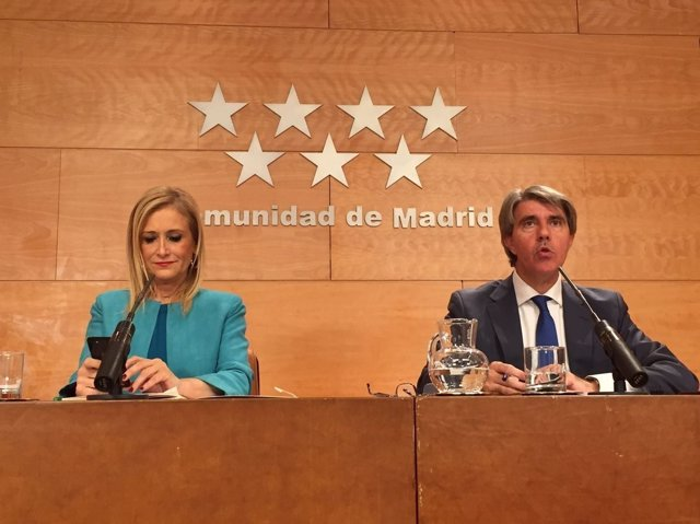 Cristina Cifuentes y Ángel Garrido