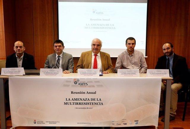 AMYS_amenaza multirresistencia_ponente