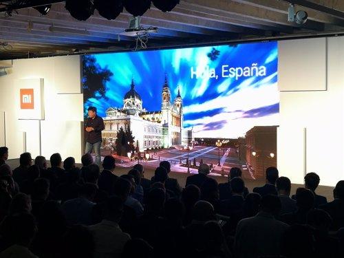 Presentación de Xiaomi en España