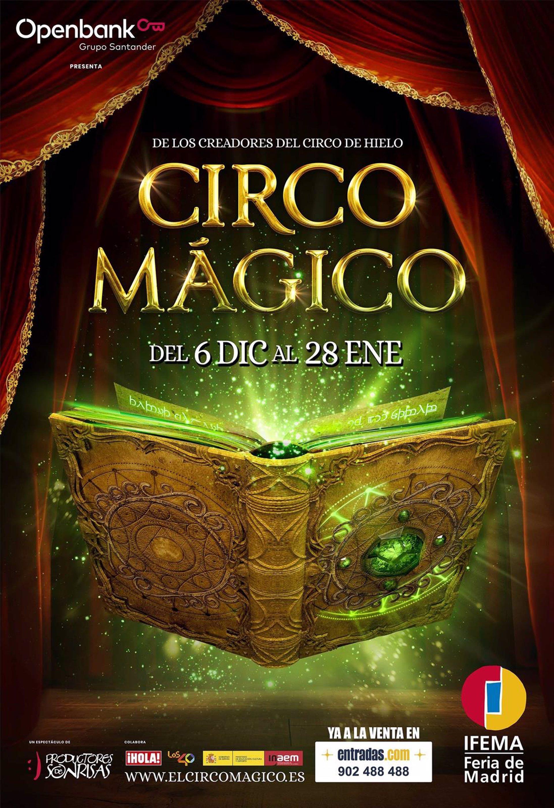 El espectáculo Circo Mágico llegará el 6 de diciembre a Ifema y las ...