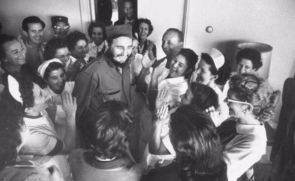Fidel mujeres