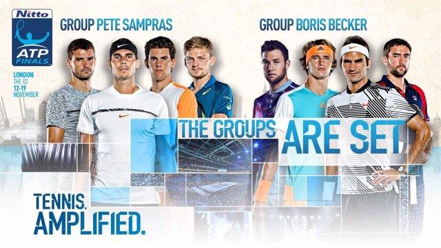 Sorteo de las ATP Finals