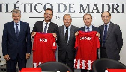 La Fundación Club Atlético de Madrid, Janssen e Ipsen firman un acuerdo  para concienciar sobre el cáncer de próstata