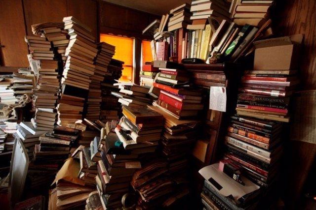 Libros apilados