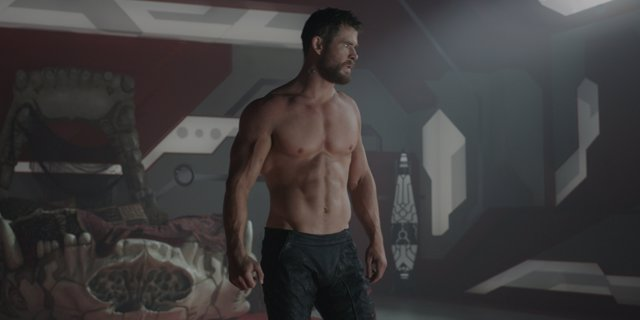 Chris Hemsworth en Thor: Ragnarok