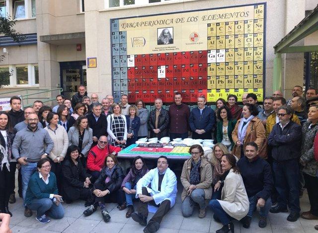 Conmemoración 10 años tabla periódica en la Semana de la Ciencia en Jaén