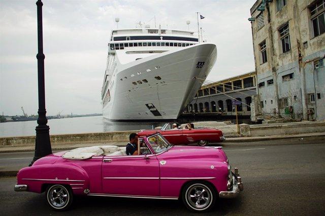 Crucero en La Habana