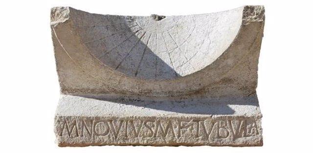 Reloj de sol romano