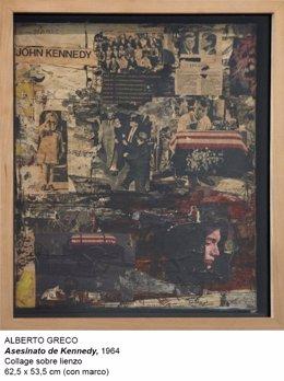 Collage 'Asesinato de Kennedy' de Alberto Greco