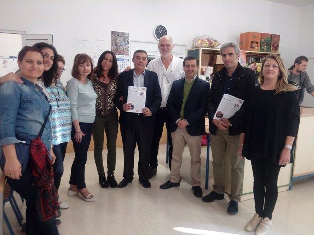 1 Nota Y 1 Foto Junta (Recepción Erasmus +)