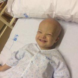 José María, niño con síndrome de down que padece leucemia