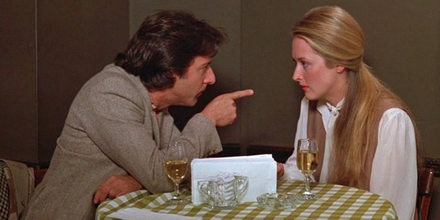 Dustin Hoffman y Meryl Streep en Kramer contra Kramer