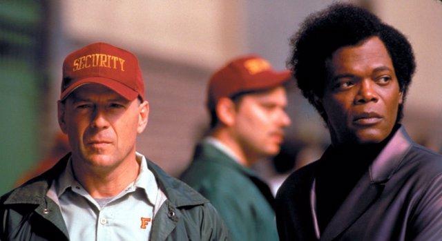 Samuel L. Jackson y Bruce Willis