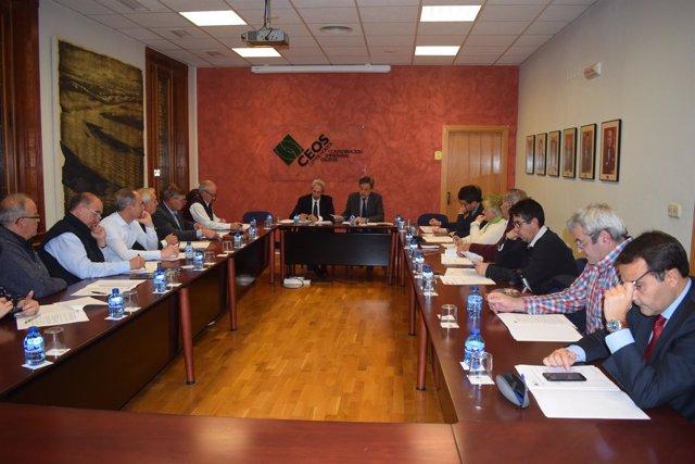 Reunión de CEOS CEPYME-Huesca