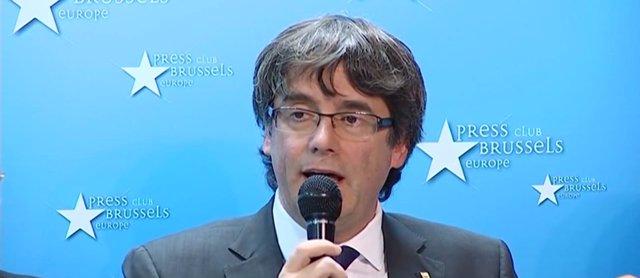 """Puigdemont no pedirá asilo pero sí """"garantías para volver"""""""