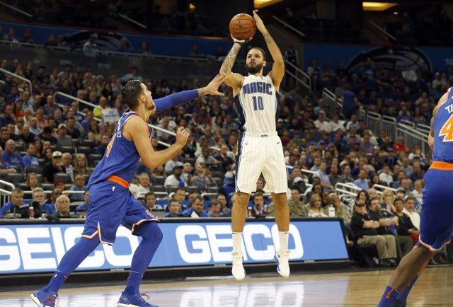 Willy Hernangómez New York Knicks Orlando Magic Evan Fournier