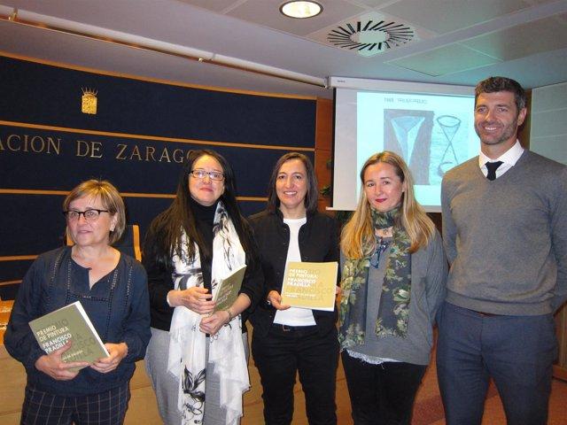 El catálogo y la muestra del Premio Pradilla se han presentado hoy en DPZ