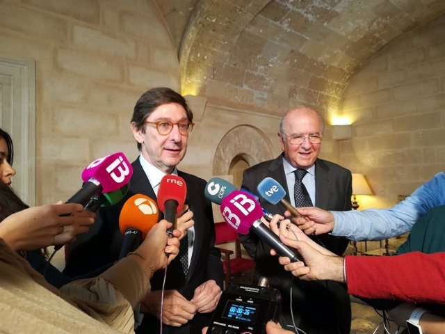 Los Presidentes De Bmn Y Bankia