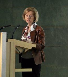 La presidenta del Consejo de Supervisión del BCE, Daniele Nouy