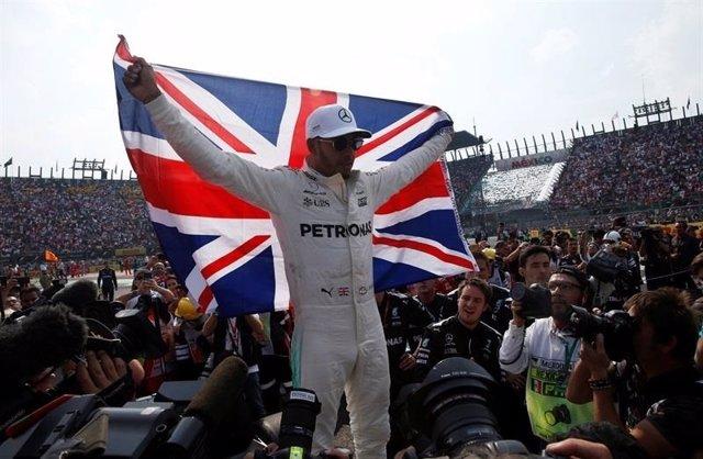 Hamilton, campeón del mundo en México