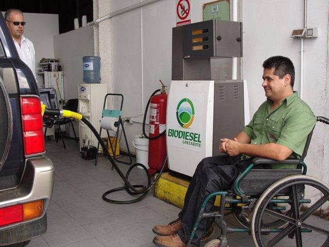 Surtidor de biodiesel